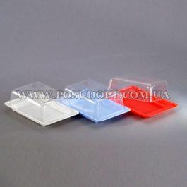 Масленка (пластик, прозрачная крышка)