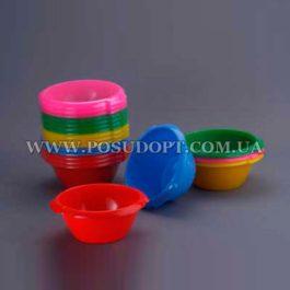 Миска (пластик, цветная) 2,5л