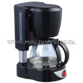 """Кофеварка (термостойкая стеклянная чаша с крышкой, 4-6 чашек) """"Maestro-406"""" 550W"""
