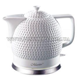 """Чайник электрический 1,5л (дисковый нагреватель, экологически чистая керамика) """"Maestro-067"""" 1200W"""