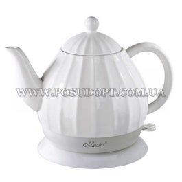 """Чайник электрический 1,2л (дисковый нагреватель, экологически чистая керамика) """"Maestro-070"""" 1200W"""