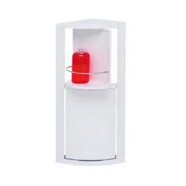 Шкафчик угловой с 2-мя вращающимися полками 50,5 см